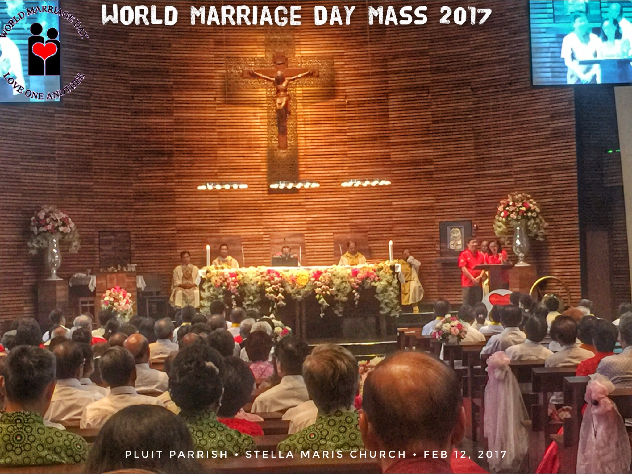 World Marriage Day Mass 2017