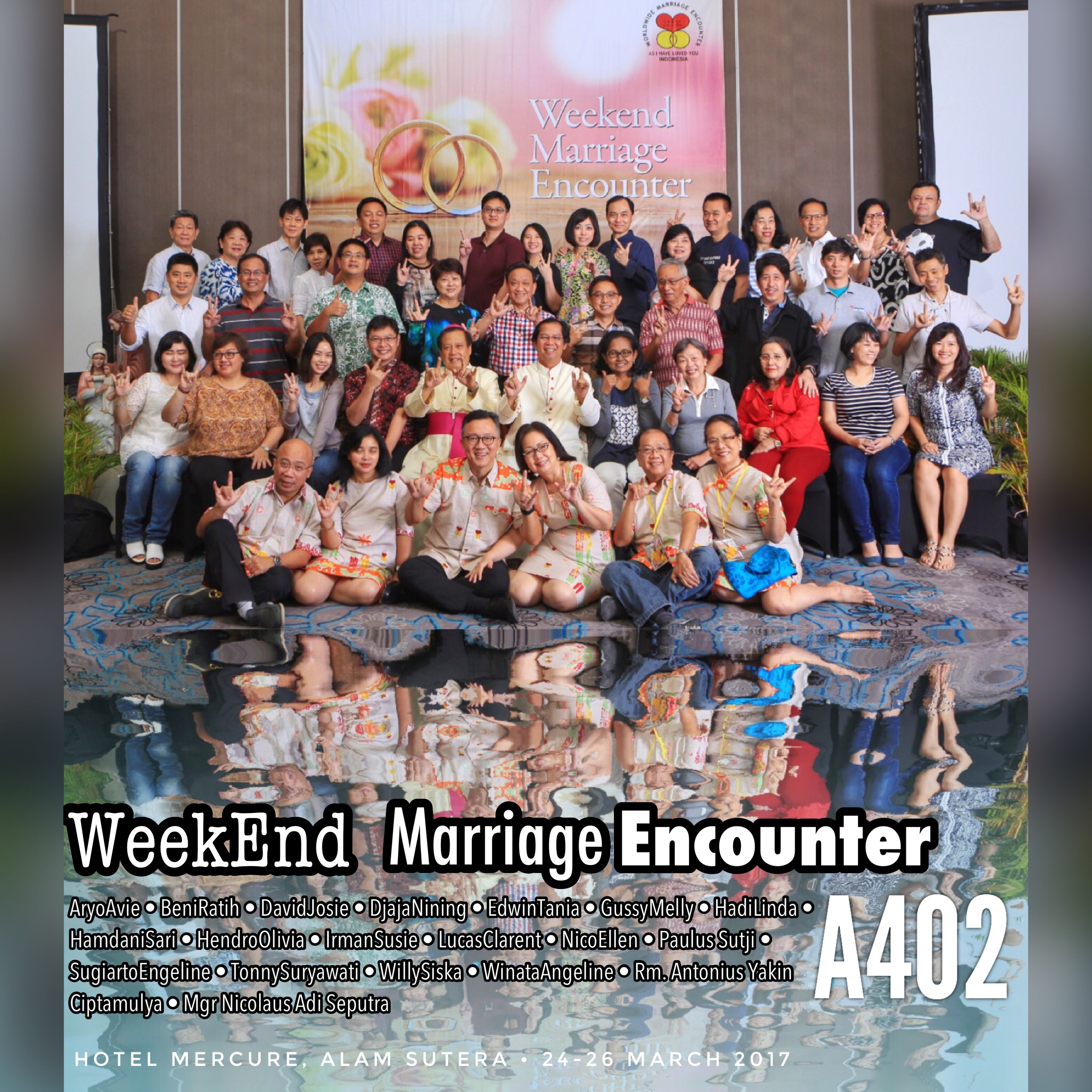 Group photos of WWME WeekEnd batch#402